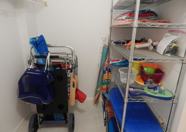 Beach Buggy, Towels, Beach Toys, Beach Umbrellas and Chairs for our Guests