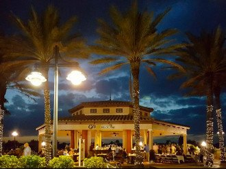 An Evening at CJs on the Bay Waterfront Dining on Smoke House Bay.