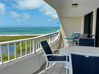 Sea Mar Balcony Overlooking the Gulf Waters