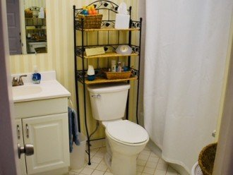 recently remodeled bathroom