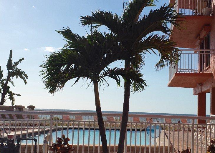 Beachfront Condo, Corner Unit Has Wrap-around Balcony at Chateaux #5