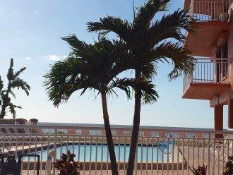 Beachfront Condo, Corner Unit Has Wrap-around Balcony at Chateaux #1