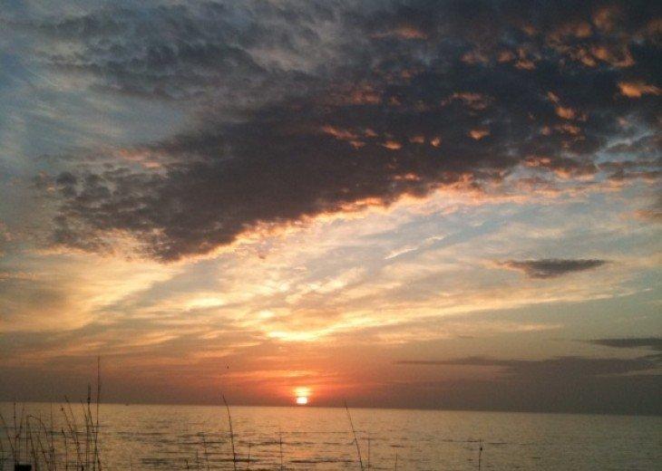 Wonderful year round sunsets