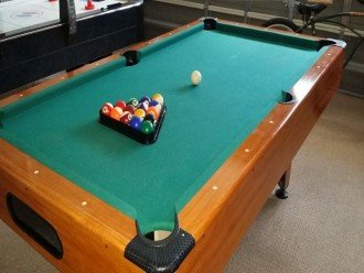 Pool table...