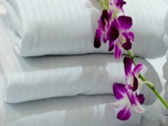 All of the beds are made with the higgest quality linen.