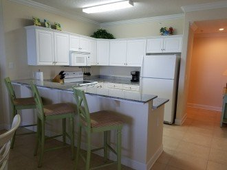 Kitchen with eating space
