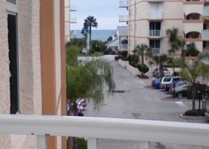 View from front balcony