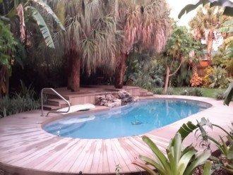 Backyard Pool 200 feet to Neighborhood Beach #1