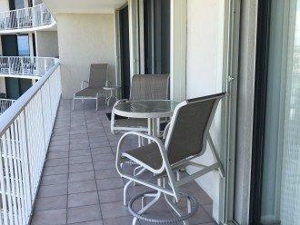 Extended balcony