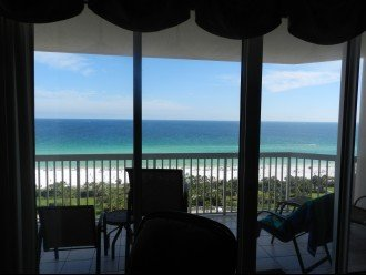 Ocean View from the living room