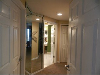 Hall to Master Bedroom