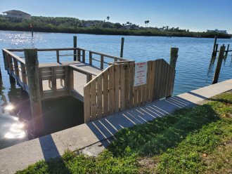 Private Fishing Dock for WCV Guests