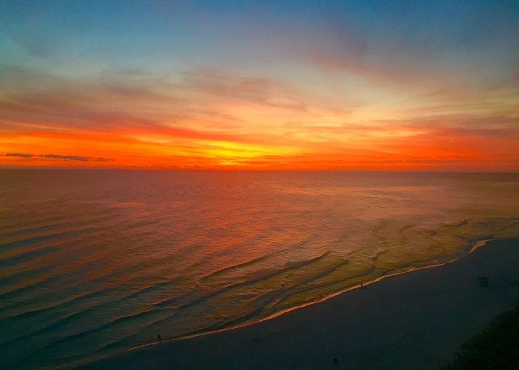 Spectacular sunsets from YOUR private balcony!