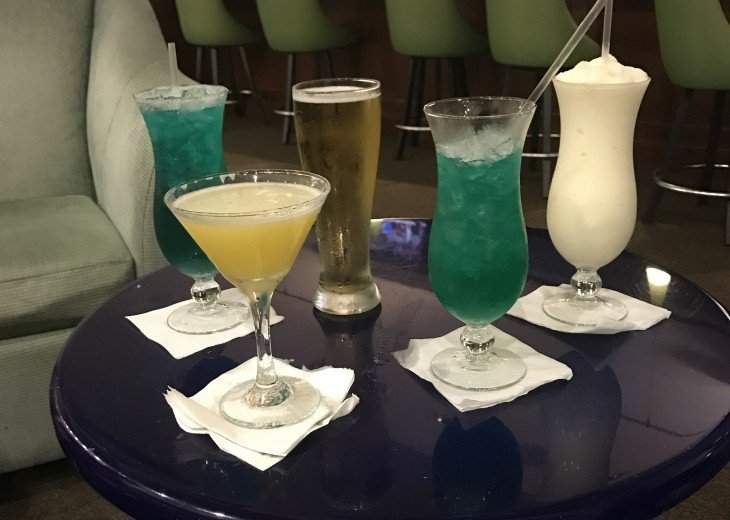 Happy Hour at Emerald Beach SkyBridge Bar!
