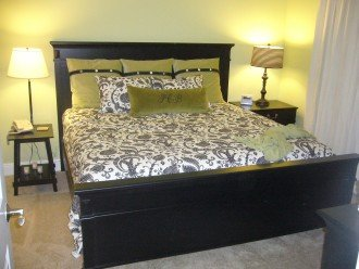 King Size Master Bedroom!