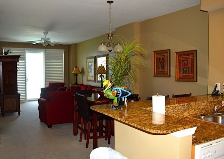 Beautifully furnished with Beach Service. Close to Pier Park #15