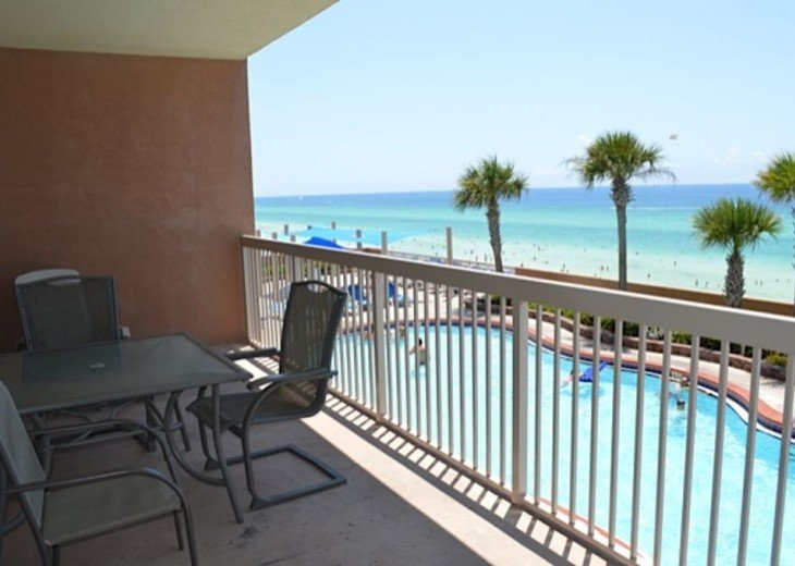 Beautifully furnished with Beach Service. Close to Pier Park #13