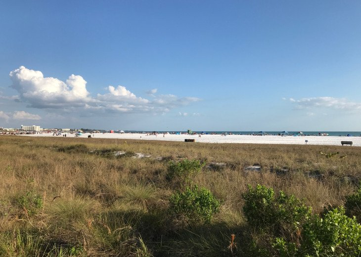 The White Sands of Siesta Key remain cool and silky year round.
