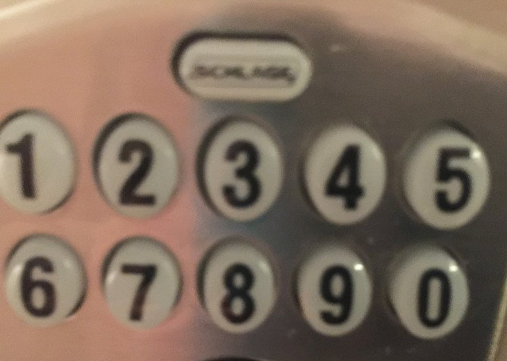 Condo has keyless entry, Guests provided with a 4 digit code