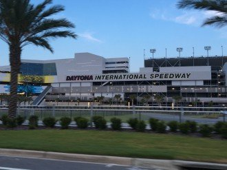Famous NASCAR Daytona International Speedway is only 5 miles from the house!