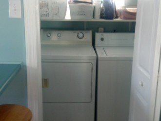 Laundry room washer and dryer