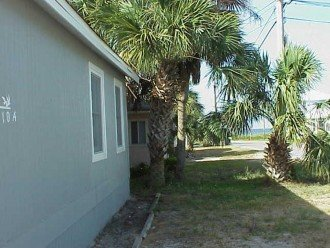 Parking area on front with gulf view 70 yards away