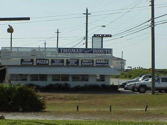 Landmark restaurant 1/2 block away