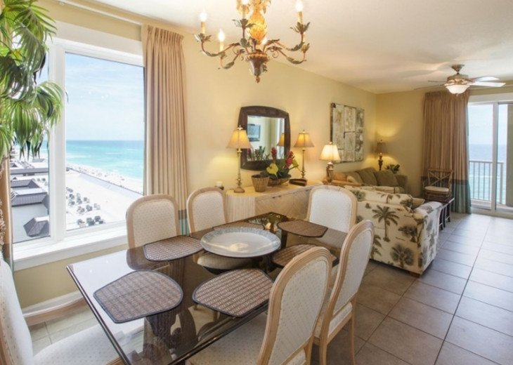 APR 1 - 25, MAY 2 - 30 OPEN - 3 BR 2 BA BEACH FRONT CONDO W/ FREE BEACH SVC #1