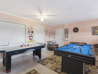 Airconditioned games room