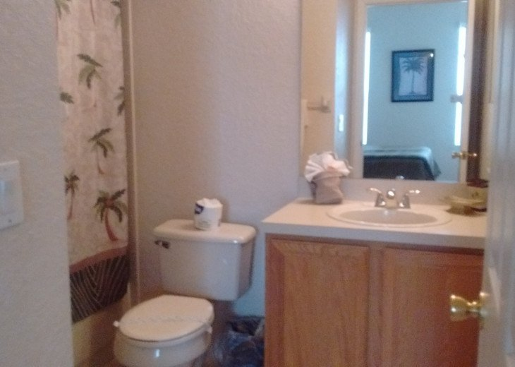 queen bathroom on 1st fl