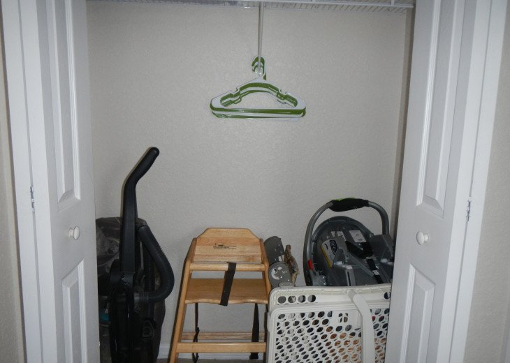 closet in queen bedroom
