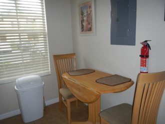 Extra seating in kitchen