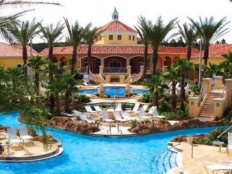 Clubhouse and Waterpark