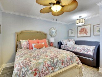 This Condo Features a Queen Bed and Twin Trundle