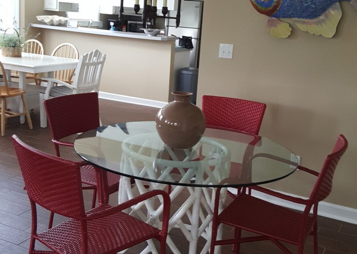 Game table and Dining Area