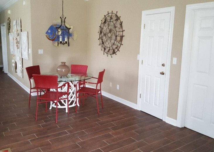 Living area with game table and lots of room!