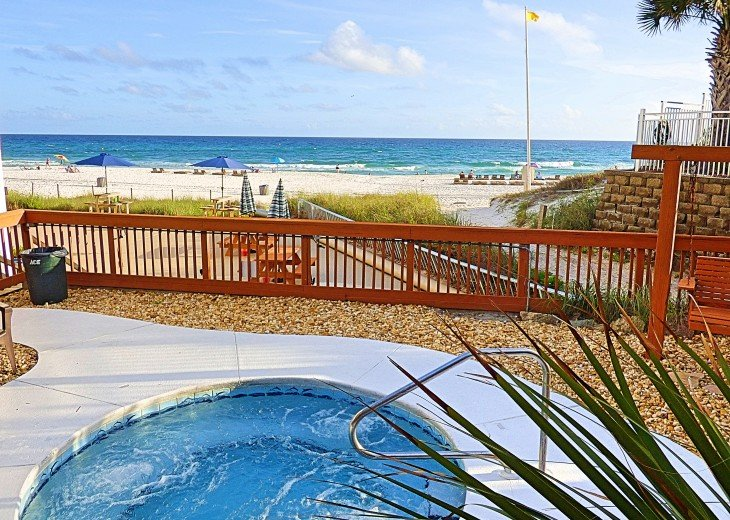 Pet Friendly Steps to the Sand Private Deck Hot Tub WIFI Pool #8
