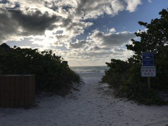 ANOTHER BEACH ENTRANCE ACROSS THE ROAD FROM PROPERTY