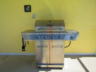 Stainless Steel gas grill