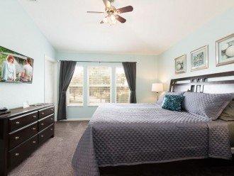Master Bedroom - king bed.