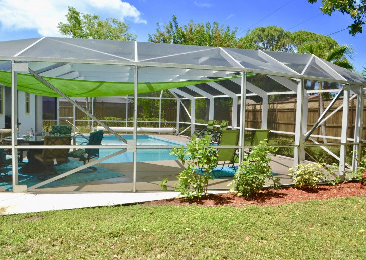 Private Heated Pool Home. Walk or bike to Shamrock Park and close to the beaches #5