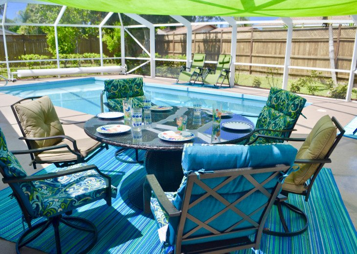 Private Heated Pool Home. Walk or bike to Shamrock Park and close to the beaches #3