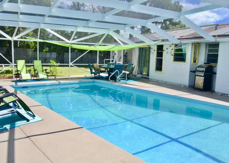 Private Heated Pool Home. Walk or bike to Shamrock Park and close to the beaches #2