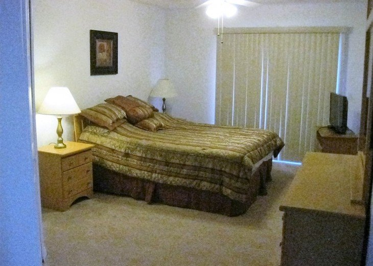 Master Bedroom with Bath Upstairs