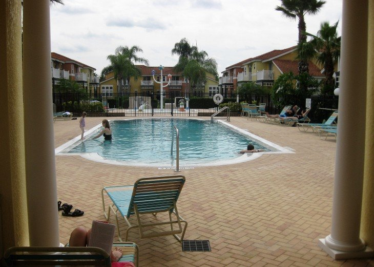 Swimming Pool Behind Clubhouse
