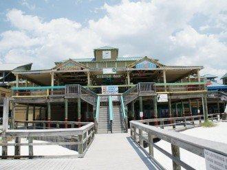 Boardwalk Plaza with 5 restaurants - just up the beach