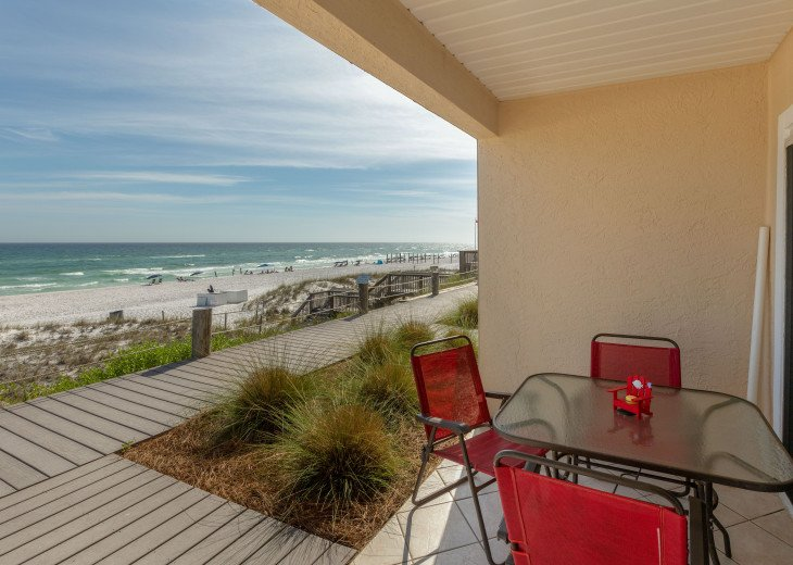 Crystal Sands Gulf Front, 1st Floor Newly Remodeled Platinum unit - #24