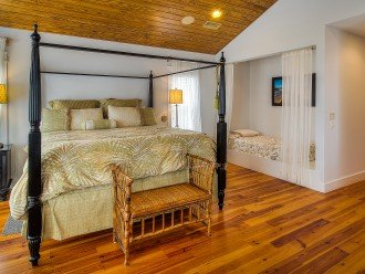 Main Master Bedroom-King bed and twin bed