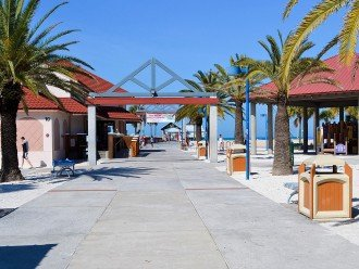 Clearwater Beach 8A : 2 BR 2 BA Condo #1
