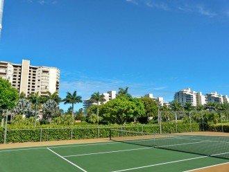 Free Tennis Court on propert